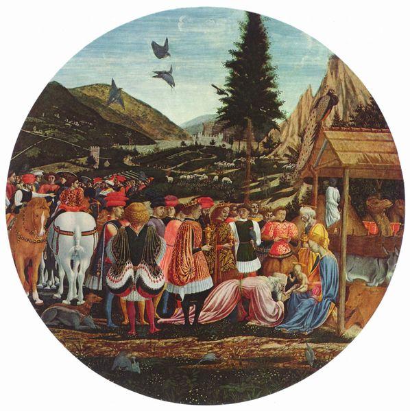 Domenico Veneziano: Adorazione dei Magi (Berlino)