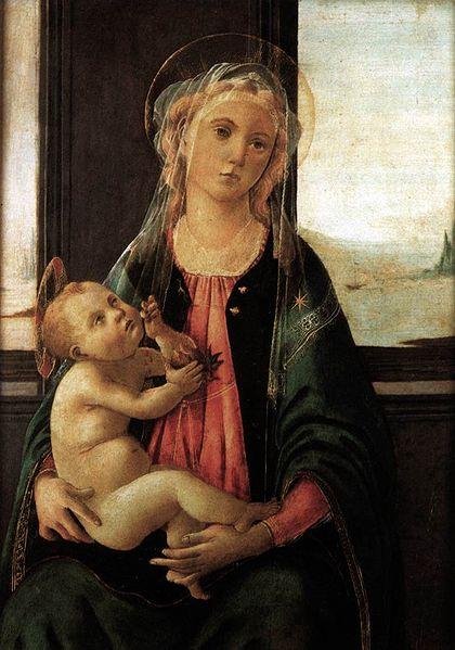 Filippino Lippi: Madonna del Mare (Accademia di Firenze)