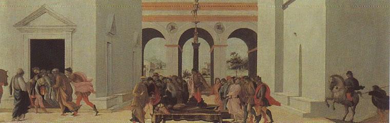 Filippino Lippi: Morte di Lucrezia