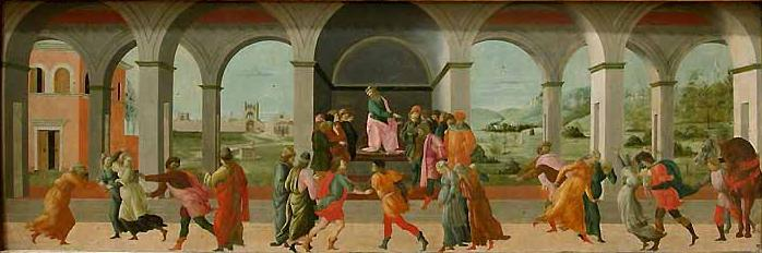 Filippino Lippi: Storie di Virginia (Louvre)