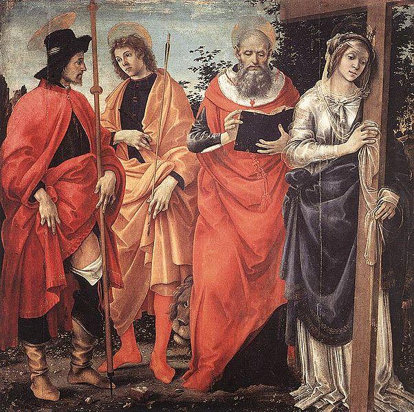 Filippino Lippi: Pala Magrini (Lucca)