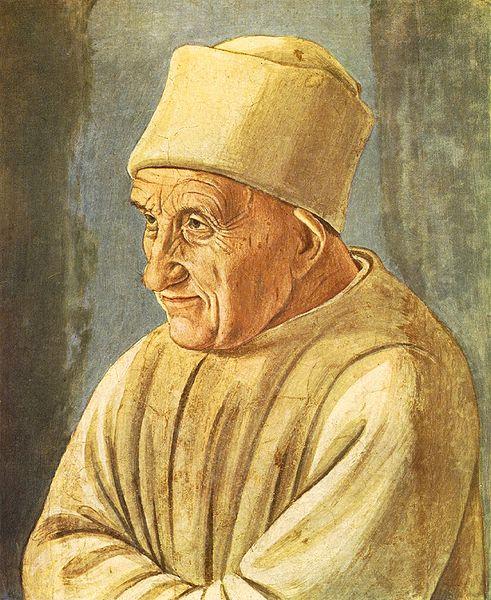 Filippino Lippi: Ritratto di uomo anziano (Uffizi)