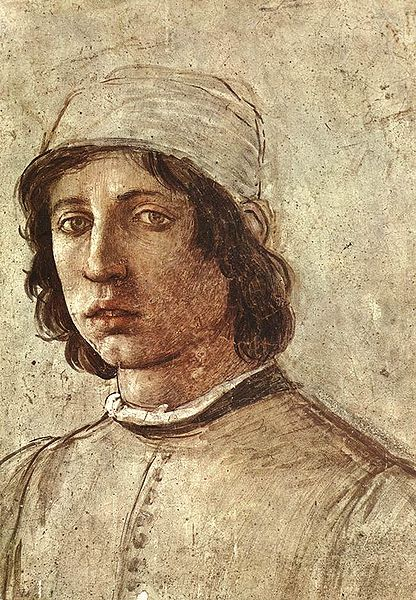 Filippino Lippi: Autoritratto