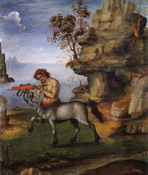 Filippino Lippi: Il centauro ferito (Oxford)