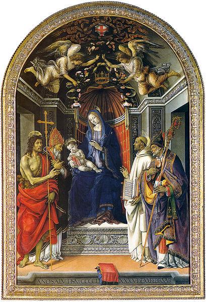 Filippino Lippi: Pala degli Otto