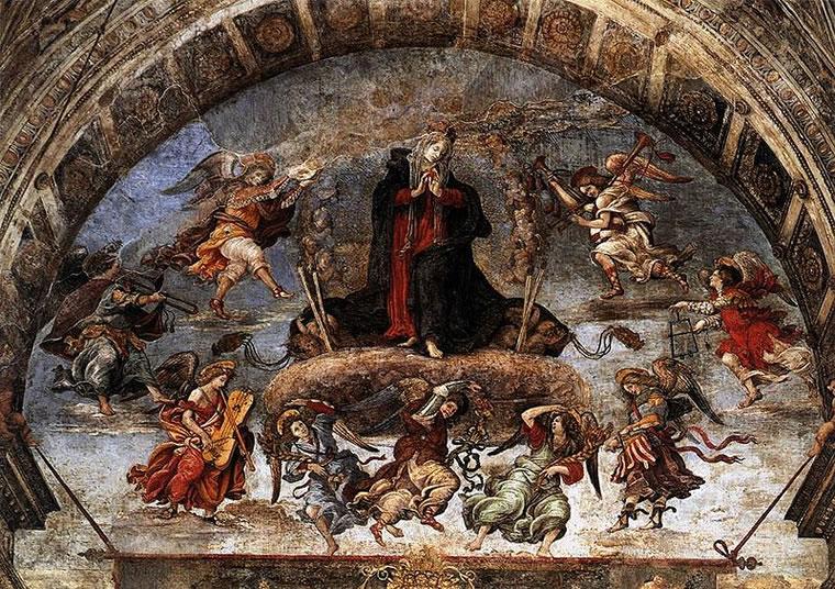 Filippino Lippi: Cappella Carafa - Assunzione