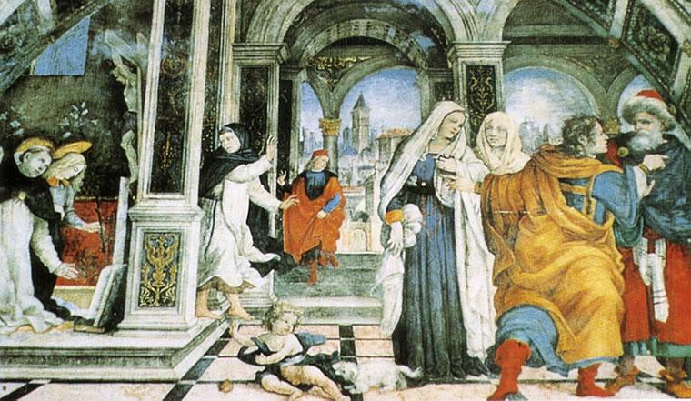 Filippino Lippi: Cappella Carafa -Scene dalla vita di san Tommaso d'Aquino