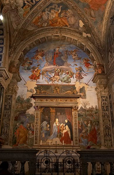 Filippino Lippi: Cappella Carafa