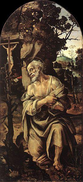 Filippino Lippi: San Girolamo (Uffizi)