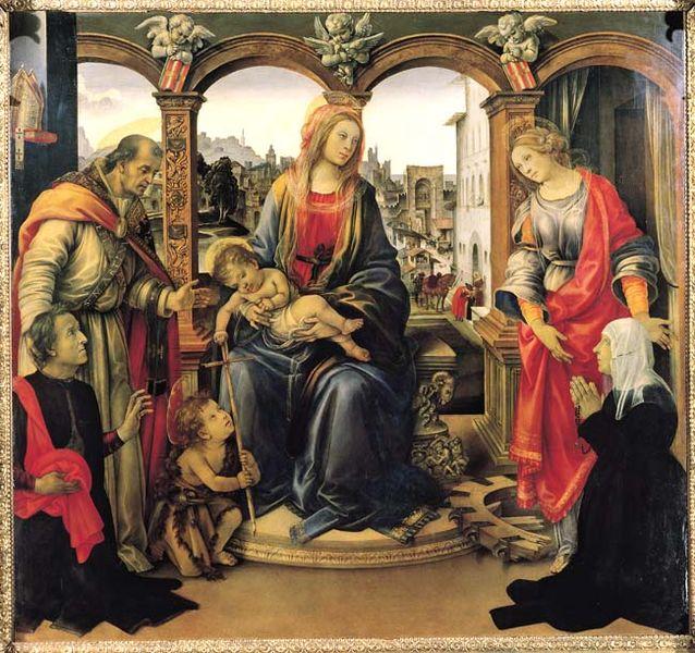 Filippino Lippi: Pala Nerli