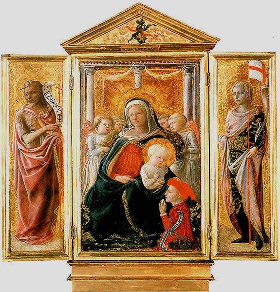 Filippo Lippi: Trittico della Madonna dell'Umiltà e santi