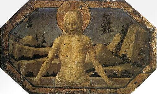 Filippo Lippi: Cristo in pietà