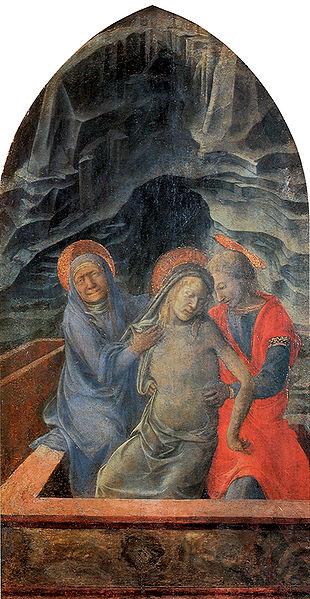 Filippo Lippi: Pietà (Poldi Pezzoli)