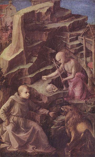 Filippo Lippi: San Girolamo penitente (Altenburg)
