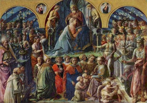 Filippo Lippi: Incoronazione Maringhi