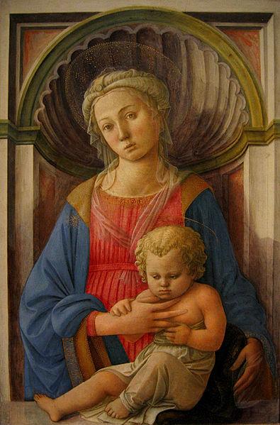 Filippo Lippi: Madonna col Bambino (Washington)
