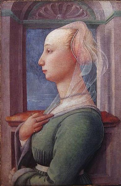 Filippo Lippi: Ritratto femminile (Berlino)