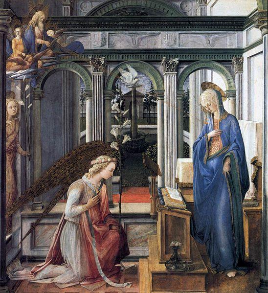 Filippo Lippi: Annunciazione (Monaco).