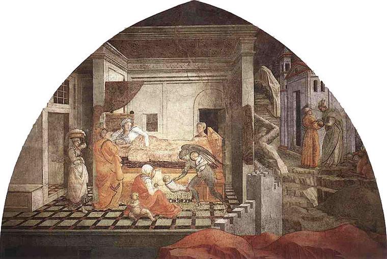 Filippo Lippi: Storie di santo Stefano e san Giovanni Battista
