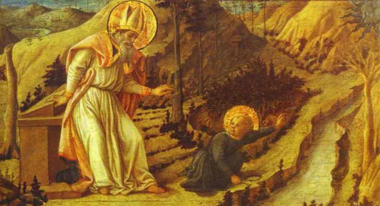 Filippo Lippi: La Visione di sant'Agostino