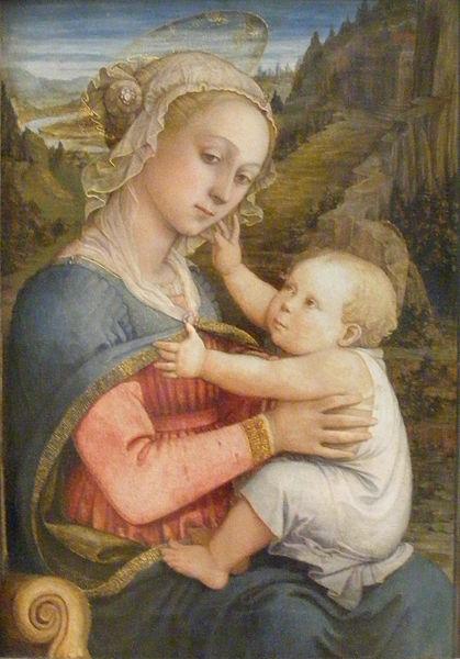 Filippo Lippi: Madonna col Bambino (Alte Pinakothek, Monaco)