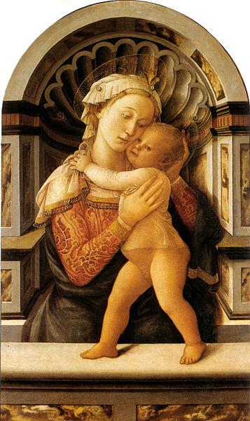 Filippo Lippi: Madonna col Bambino (Medici-Riccardi)