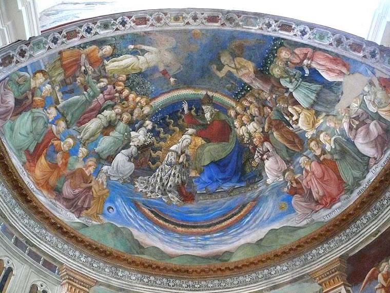 Filippo Lippi: Storie della Vergine (Spoleto)