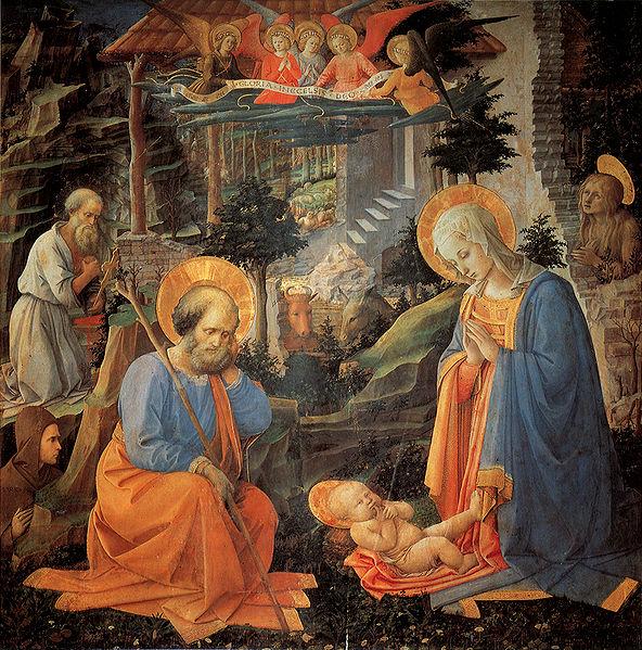 Filippo Lippi: Adorazione del Bambino (Convento di Annalena)