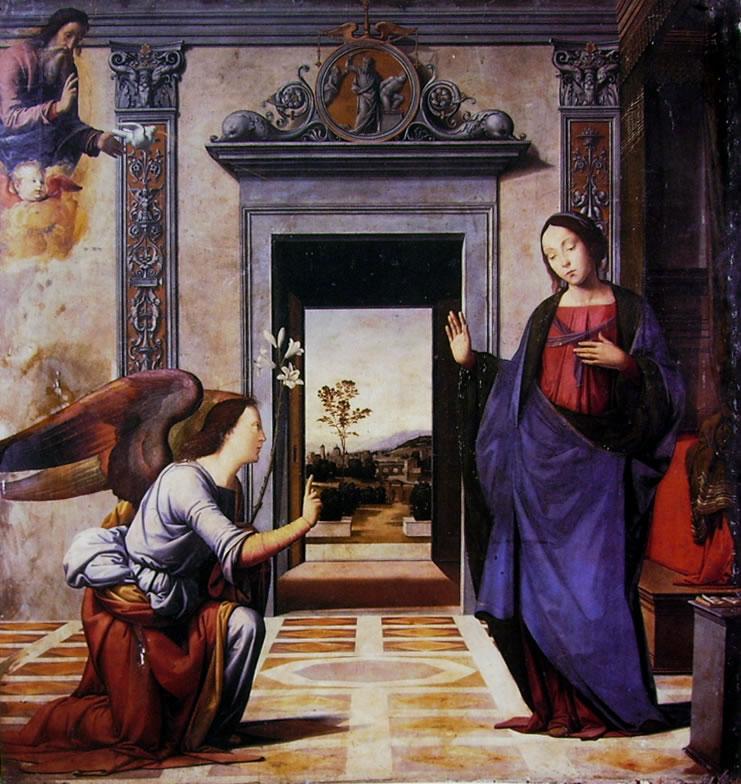 Fra Bartolomeo: Annunciazione (Cattedrale di Volterra)