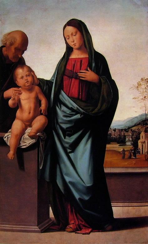 Fra' Bartolomeo:Fra Bartolomeo: Sacra Famiglia (Los Angeles)