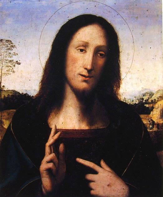 Cristo Benedicente di Fra' Bartolomeo
