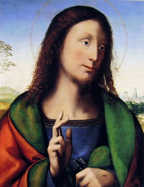 Fra Bartolomeo: Cristo Benedicente (Galleria Borghese)