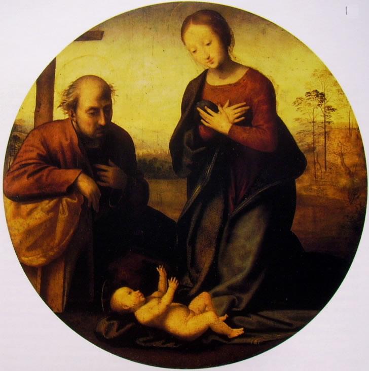 Fra Bartolomeo: Sacra Famiglia, o Tondo Visconti Venosta