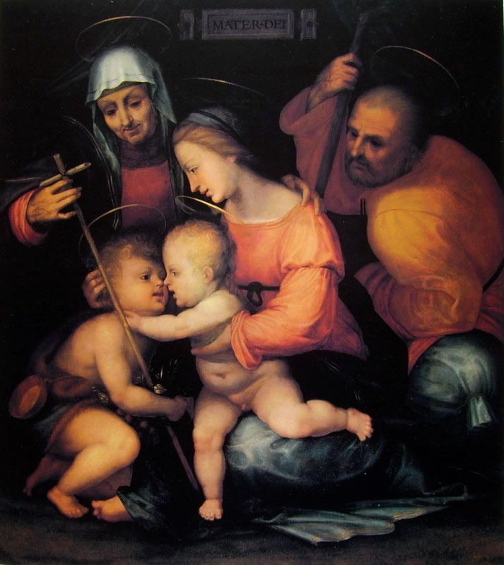 Fra' Bartolomeo: Sacra Famiglia di Palazzo Pitti