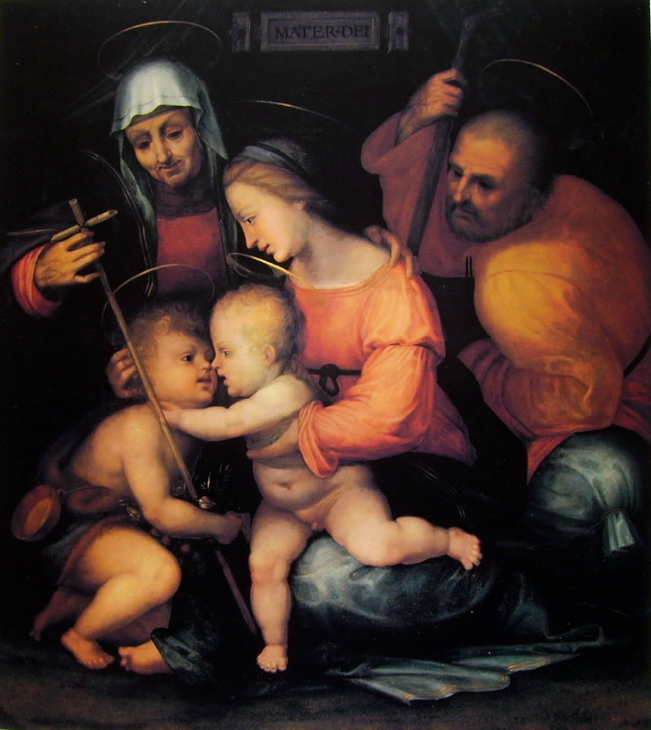 Fra' Bartolomeo: Sacra Famiglia (Palazzo Pitti)