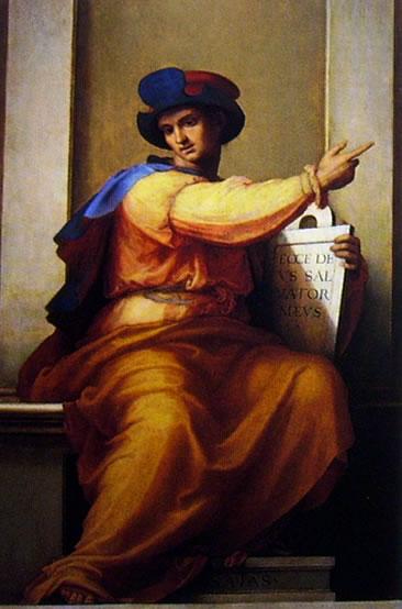 Fra' Bartolomeo: Profeta Isaia (Galleria dell'Accademia a Firenze)