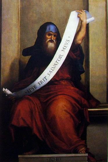 Fra' Bartolomeo: Profeta Giobbe (Galleria dell'Accademia, Firenze)