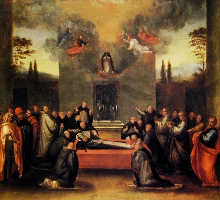 Fra' Bartolomeo: Morte e apoteosi di S. Antonio
