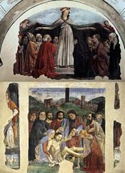 Dipinti della Cappella Vespucci