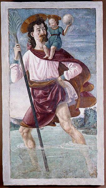 Domenico Ghirlandaio: San Cristoforo (Metropolitan Museum)