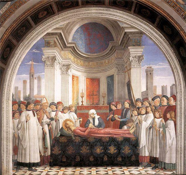 Domenico Ghirlandaio: Esequie di santa Fina