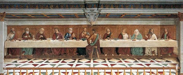 Domenico Ghirlandaio: Ultima Cena (Tavarnelle val di Pesa)