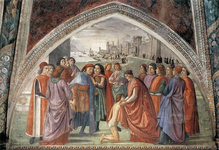 Domenico Ghirlandaio: Rinuncia agli averi