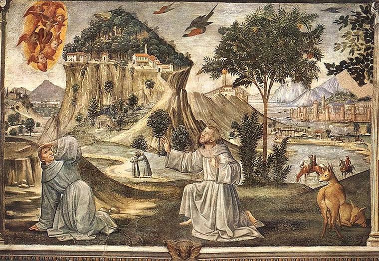 Domenico Ghirlandaio: Cappella Sassetti - Stigmate di san Francesco