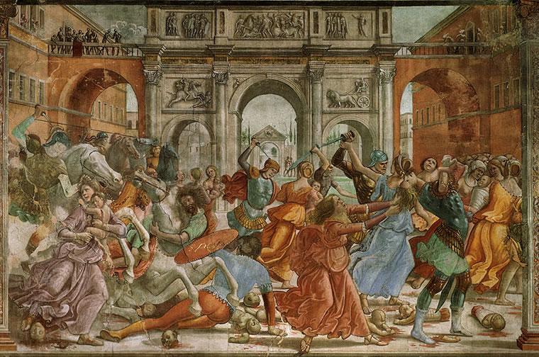 Domenico Ghirlandaio: Strage degli Innocenti