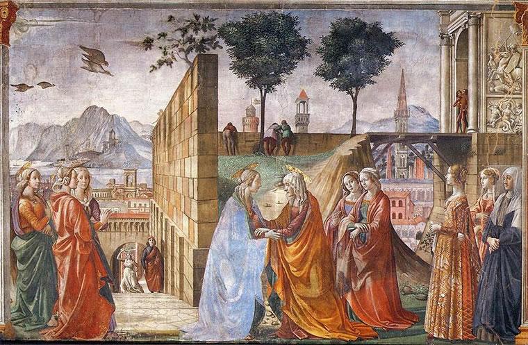 Domenico Ghirlandaio: Visitazione