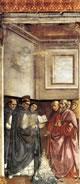 San Domenico fa la prova dei libri nel fuoco