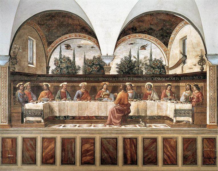 Domenico Ghirlandaio: Ultima Cena del convento di San Marco