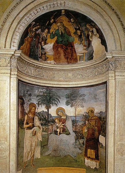 Pinturicchio: Cappella del vescovo Eroli