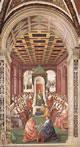 Enea Silvio fa atto di sottomissione a Eugenio IV